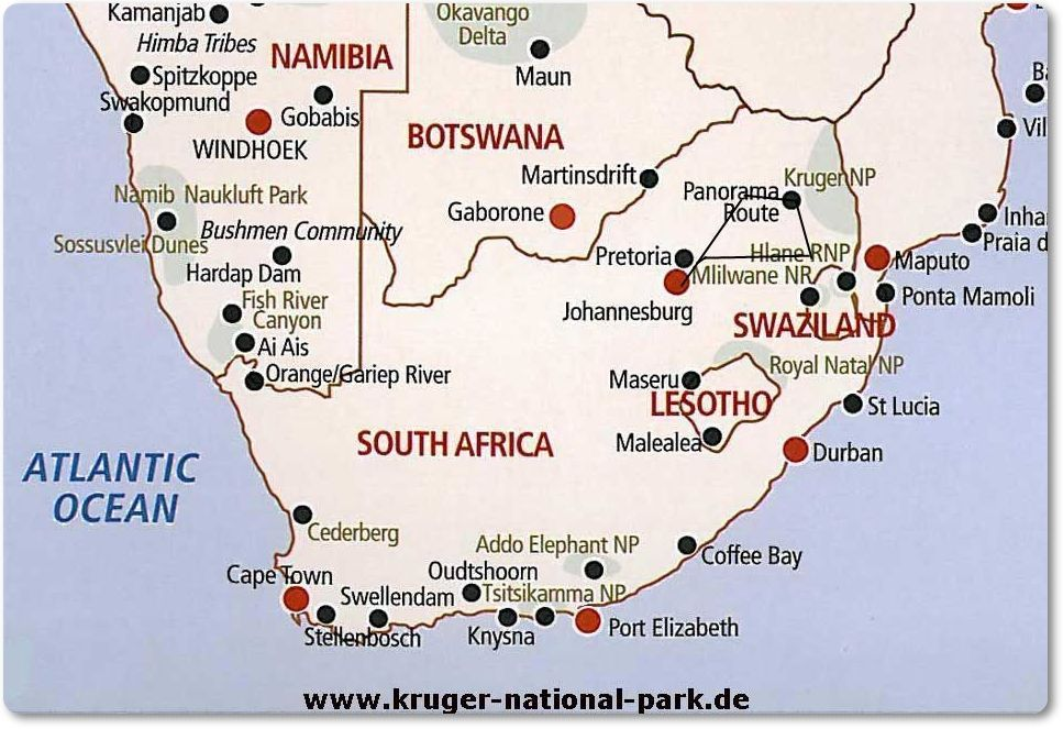 World Map Of Johannesburg South Africa Google Search Route Map Route Namibia