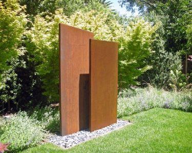 Corten Stahlwande 1 Meter Outdoor Decorating Ideas Garten
