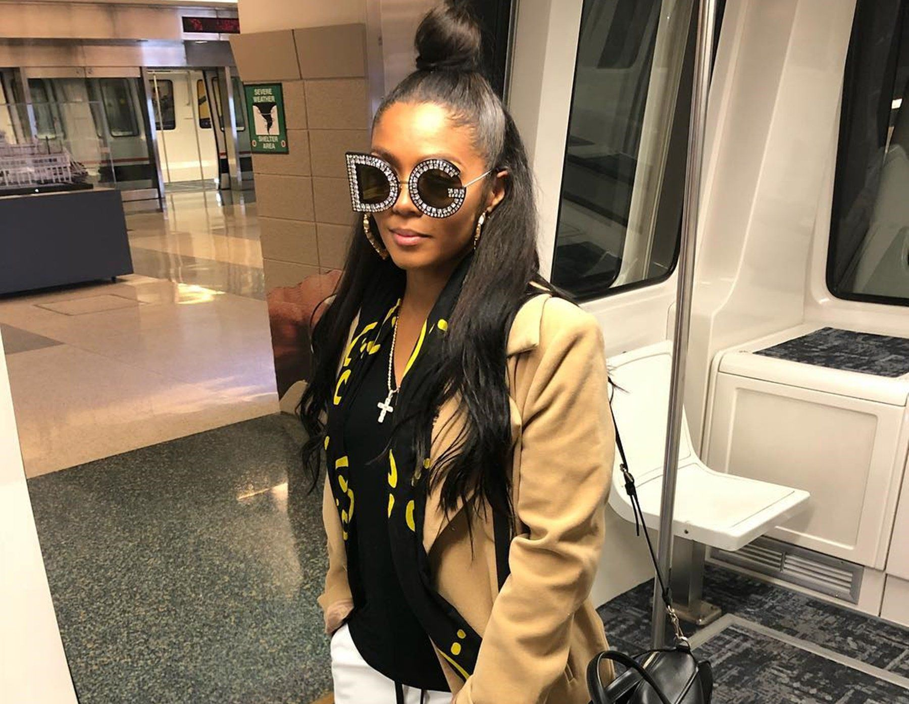 Kirk's Wife Rasheeda Frost Stuns In Red Suit — Photo Confirms She Is The Queen Of 'Love & Hip Hop: Atlanta'