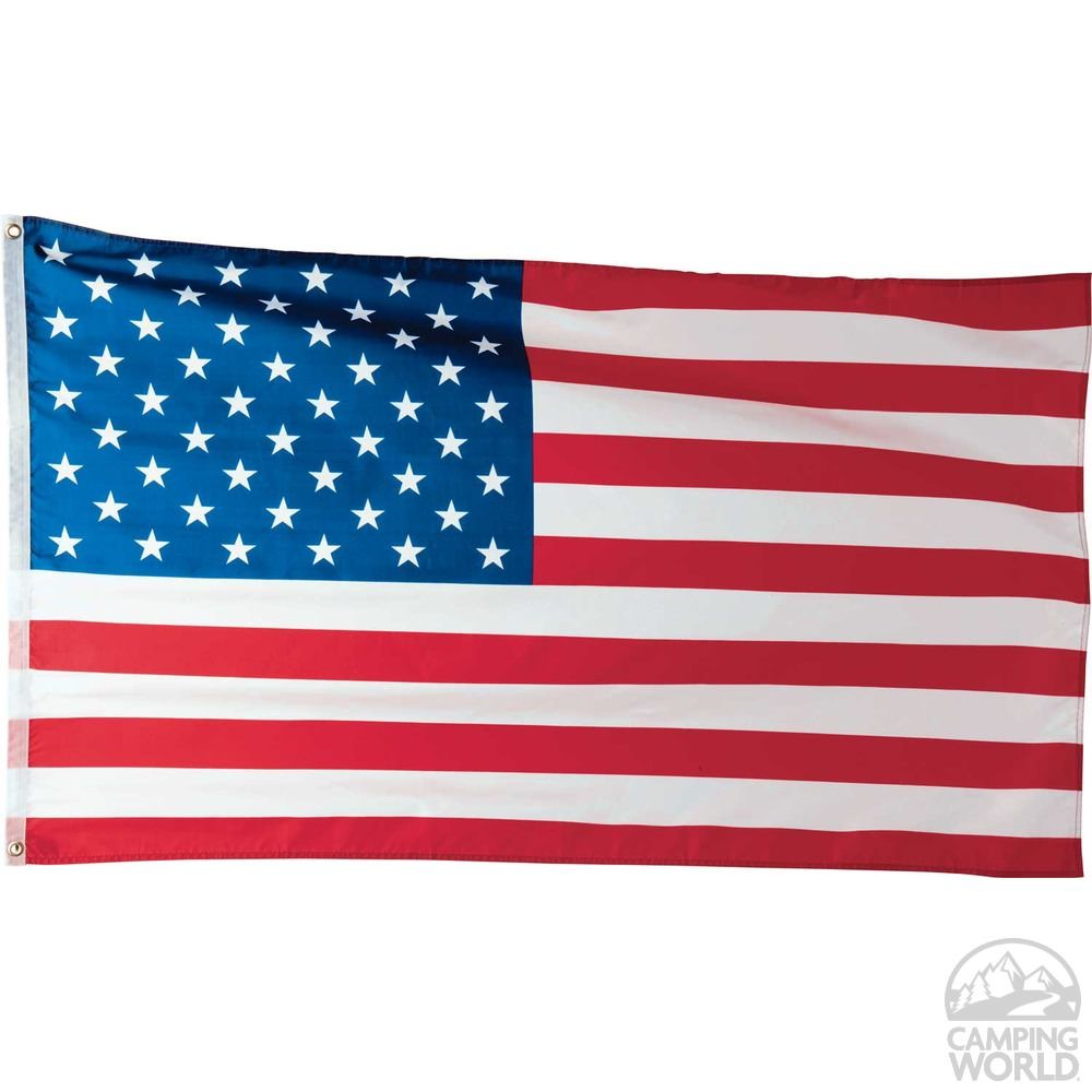 3 X 5 U S Flag Two Group Flag 08006 Flags Accessories Camping World American Flag Flag American Flag Sizes