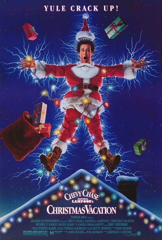 Large Solid-Faced Canvas Print Wall Art Print entitled National Lampoons Christmas Vacation (1990)