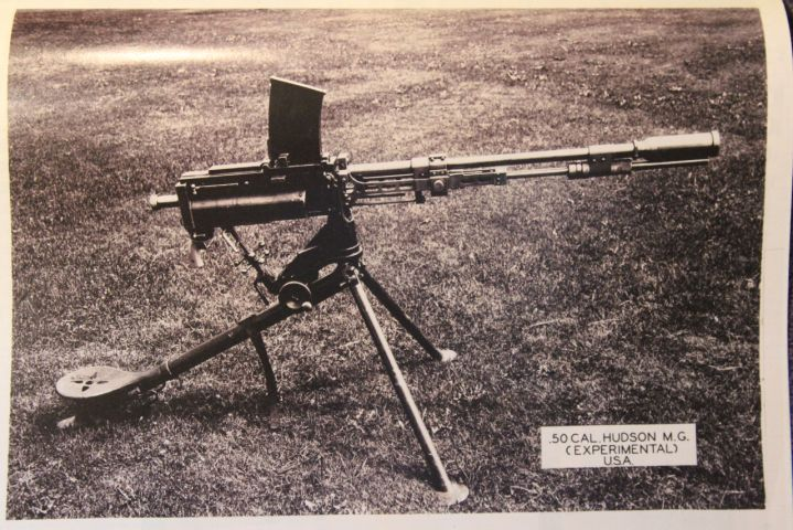 American Hudson 50 Cal Experimental Heavy Machine Gun Interesting