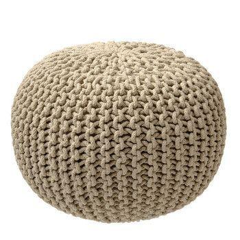fotoliu taburet tricotat ziczac bej puf fotolii puf knitted pouf pillows i knitting. Black Bedroom Furniture Sets. Home Design Ideas