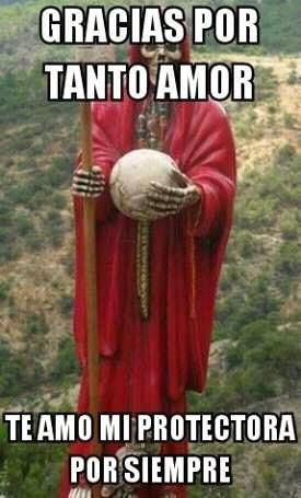Imagenes De La Santa Muerte Con Frases Chidas 30 Santa Muerte En