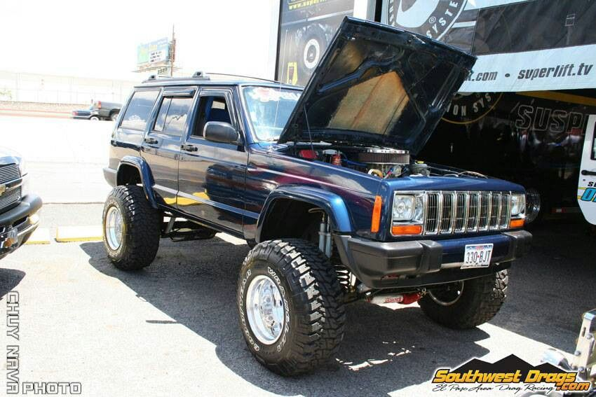 Jeepys Jeep XJ, Jesus look at the engine 😍 Jeep