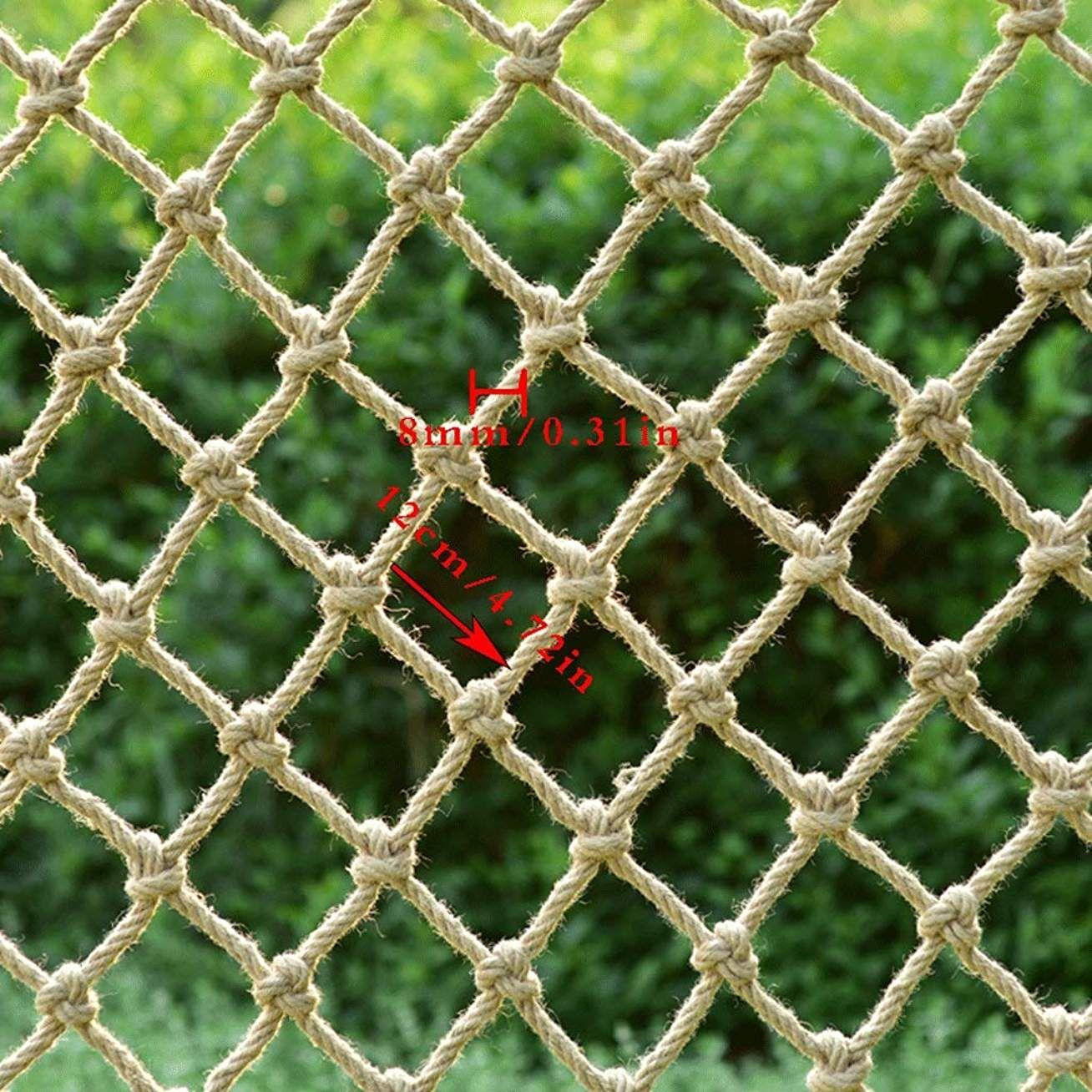 Filet De Securite Corde De Chanvre Filet D Escalier Balcon Filet De Protection Isolation Filet Decoratif Magas Decoration Plafond Parement Mural Enfant Balcon