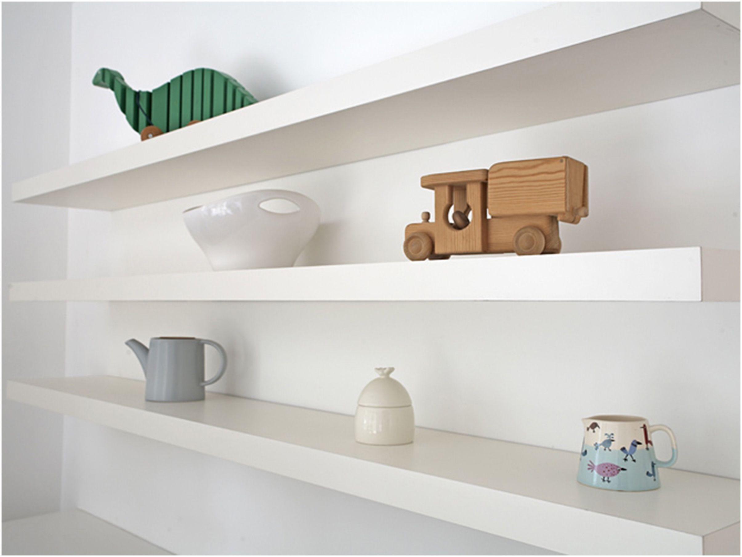 White Wood Floating Wall Shelves Ikea Floatingshelvesbedroomcreative
