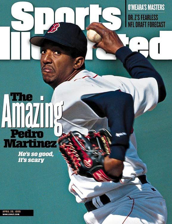Pedro Martinez Boston Red Sox Sports Illustrated Cover