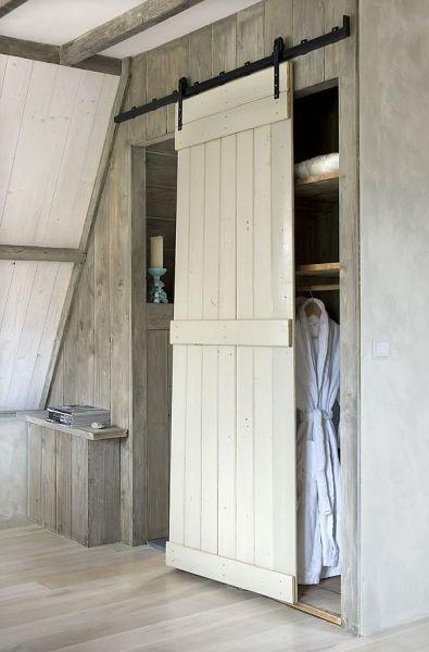 Urige Schiebetür Wohnideen Pinterest Treppenhaus dekorieren - schiebetüren für badezimmer