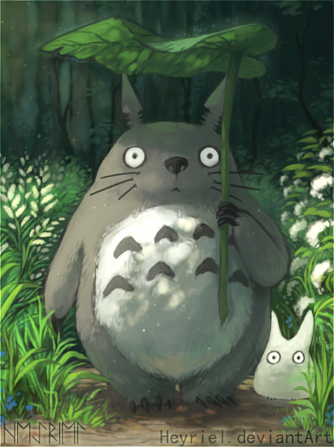 My Neighbor Totoro by Heyriel.deviantart.com on @DeviantArt