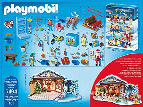 calendrier de l 39 avent playmobil atelier de jouets du p re. Black Bedroom Furniture Sets. Home Design Ideas