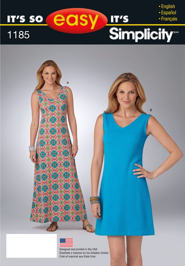 Simplicity 1185 | Simplicity patterns I have | Pinterest