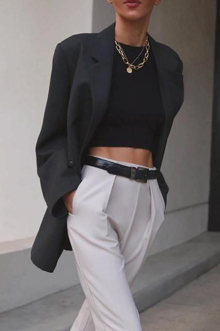 Photo of Wie trägt man eine Weiße Plissee-Hose mit hoher Taille in diesem Sommer #histo …