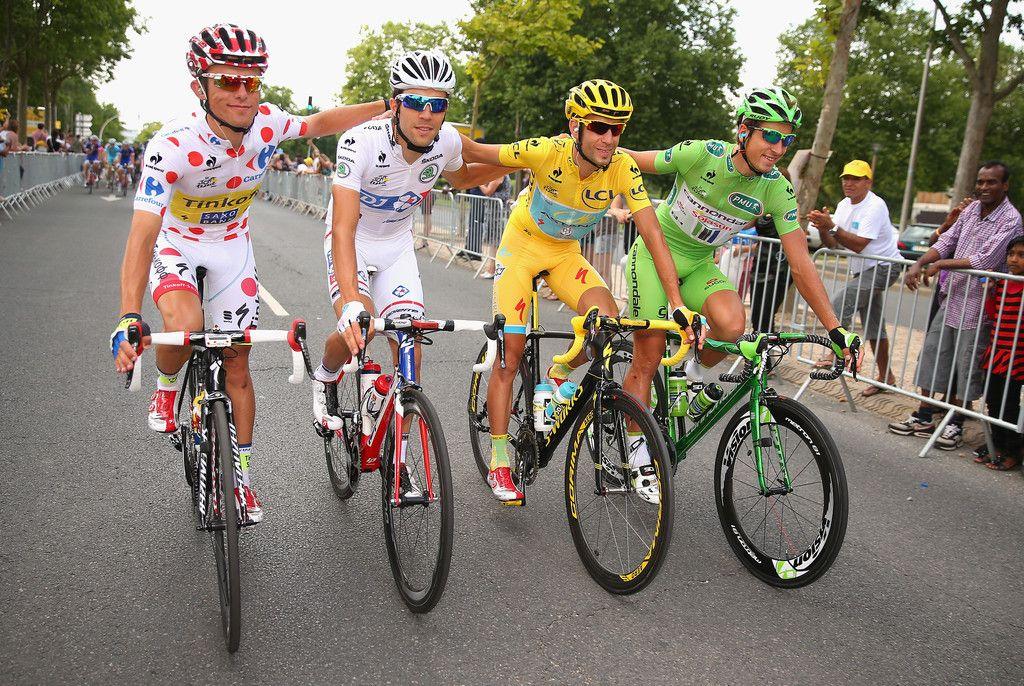 Tour de France 2014 Jersey Winners