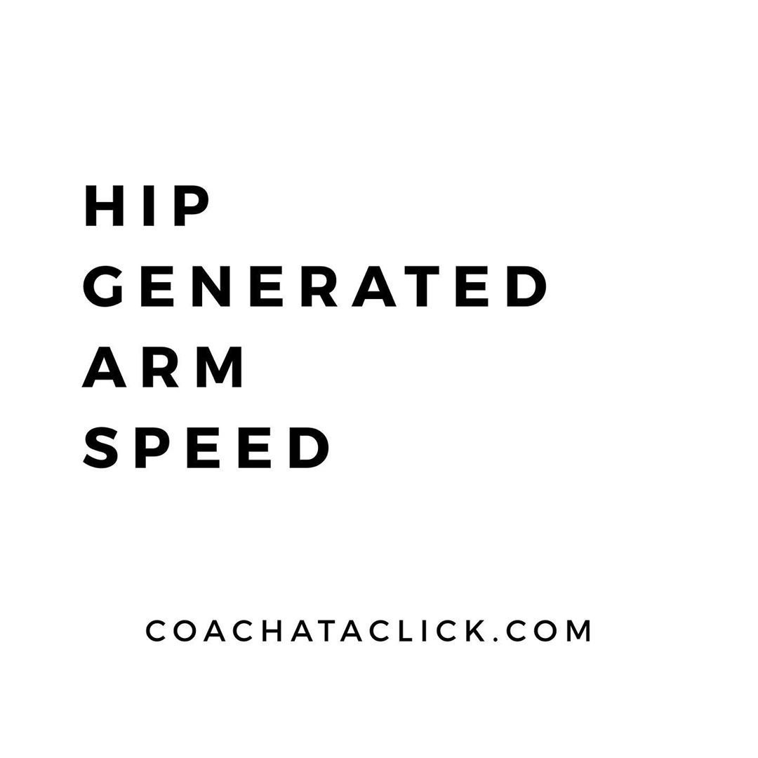 "Courtney Hudson on Instagram: ""Hip. Generated. Arm speed"