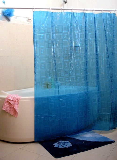 The Importance Of The Shower Curtains And Having A Beautiful Homey Bathroom Blue Shower Curtains Curtains Shower Curtain