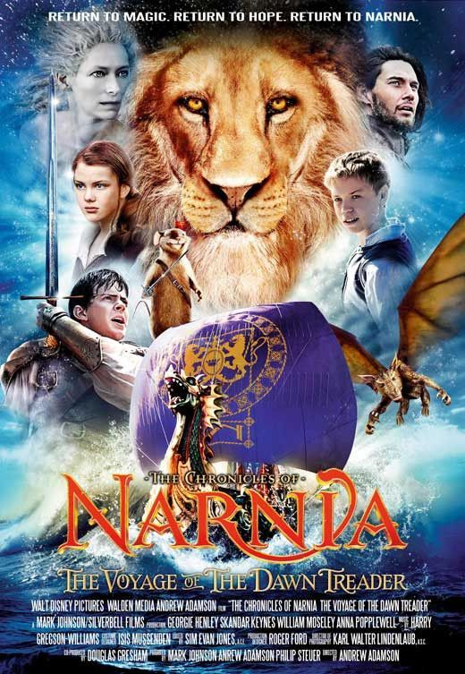 The Chronicles Of Narnia The Voyage Of The Dawn Treader 11x17