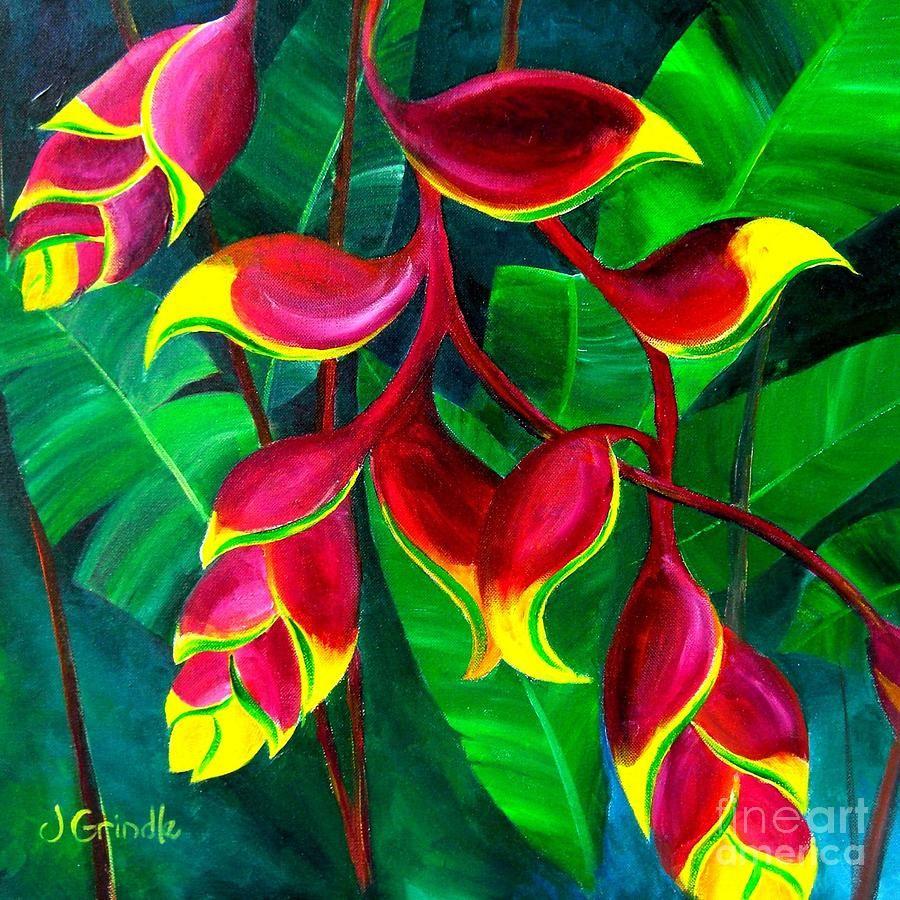 Flowers Canvas Print Canvas Art By Jerri Grindle In 2019 Tableau