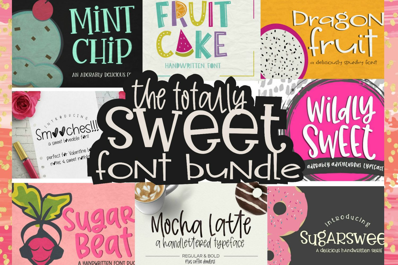 Download Totally Sweet Font Bundle   Fonts, Doodle fonts, Cricut fonts