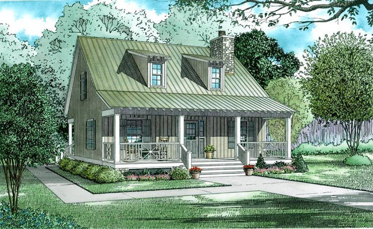 Southern Style House Plan 80715 With 5 Bed 4 Bath 2 Car Garage House Plans House Plans Farmhouse Family House Plans