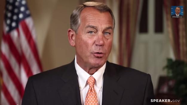 """Your priorities are our priorities."" – Speaker John Boehner"