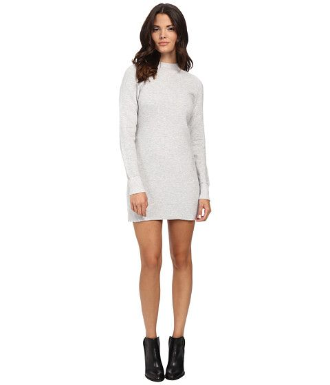 MINKPINK Ultimate Knit Long Sleeve Dress Grey - Zappos.com Free Shipping  BOTH Ways Rib 2c3ccc74f