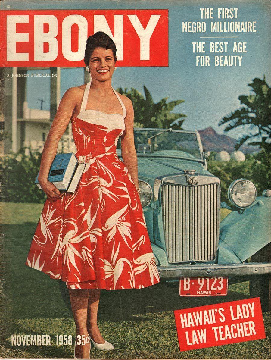 Ebony November 1958 - Ephemera Forever | Coloured people, Ebony ...