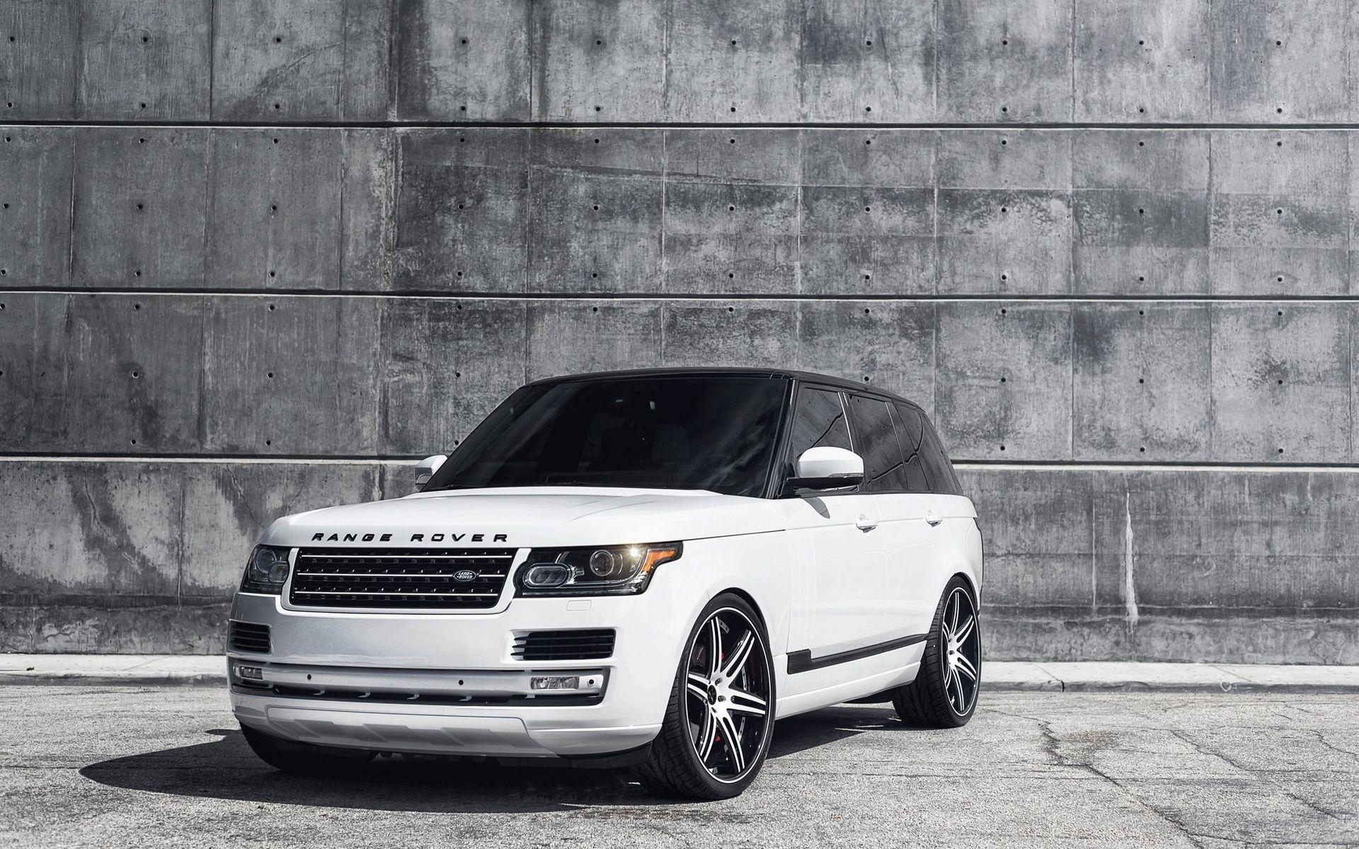 Range Rover Vogue White Hdwallpaperfx Pinterest Range Rover