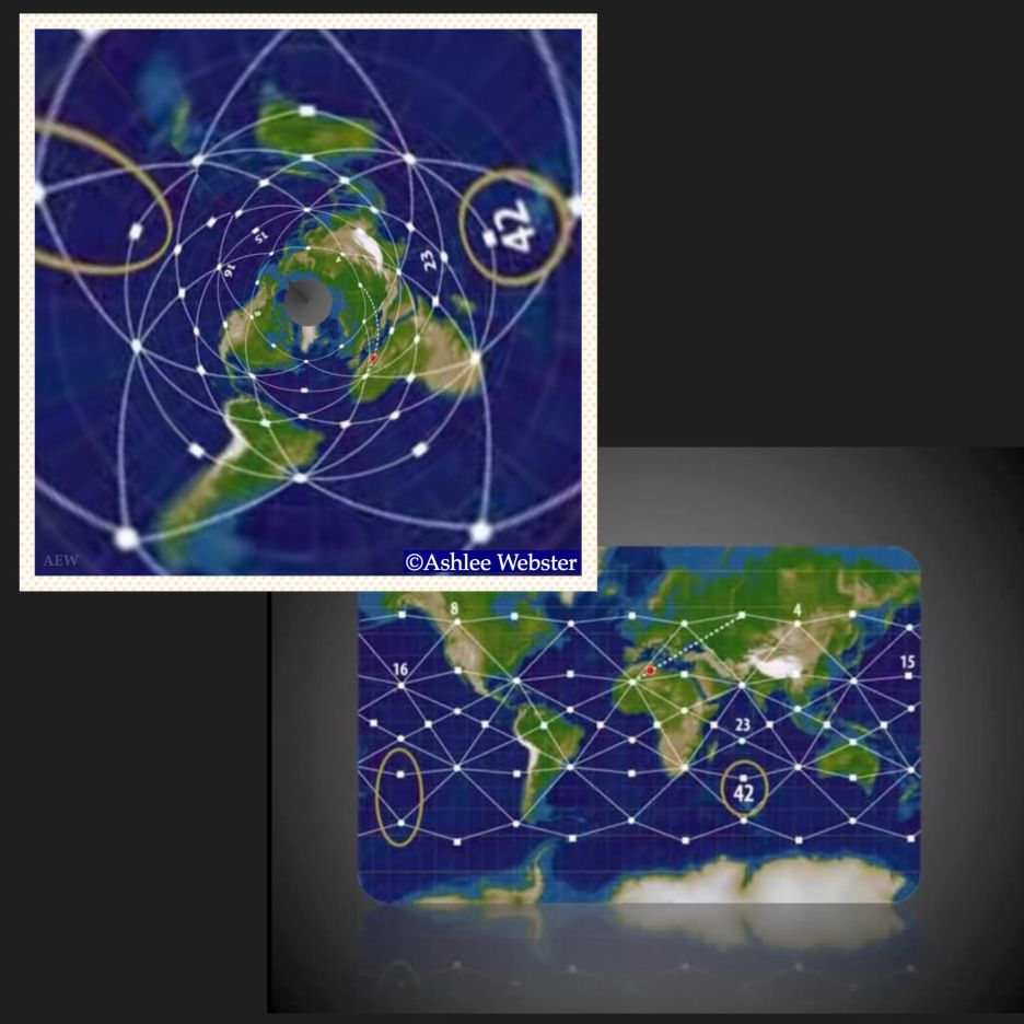 Ley lines on the flat earth | Flat earth | Flat earth, Flat earth