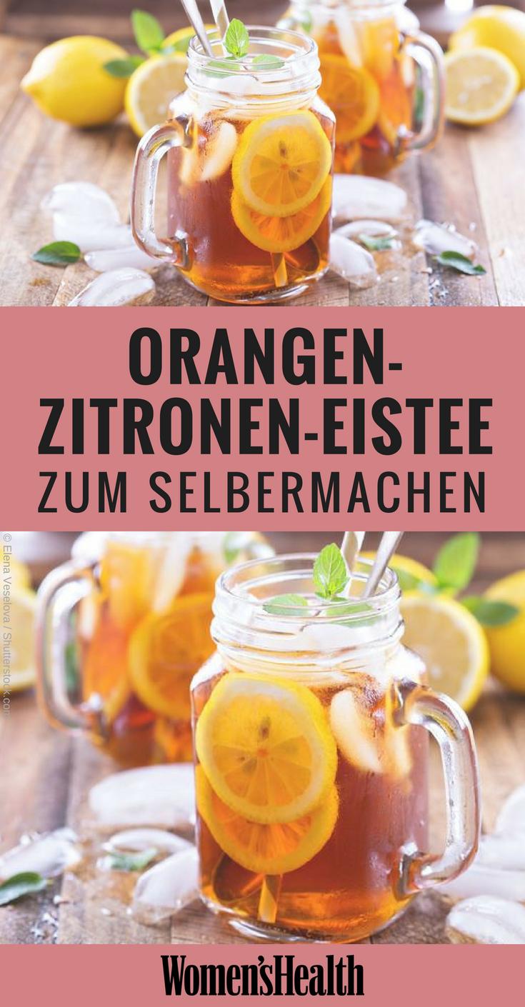 8 erfrischende Limonaden-Rezepte ohne Zucker #beverages