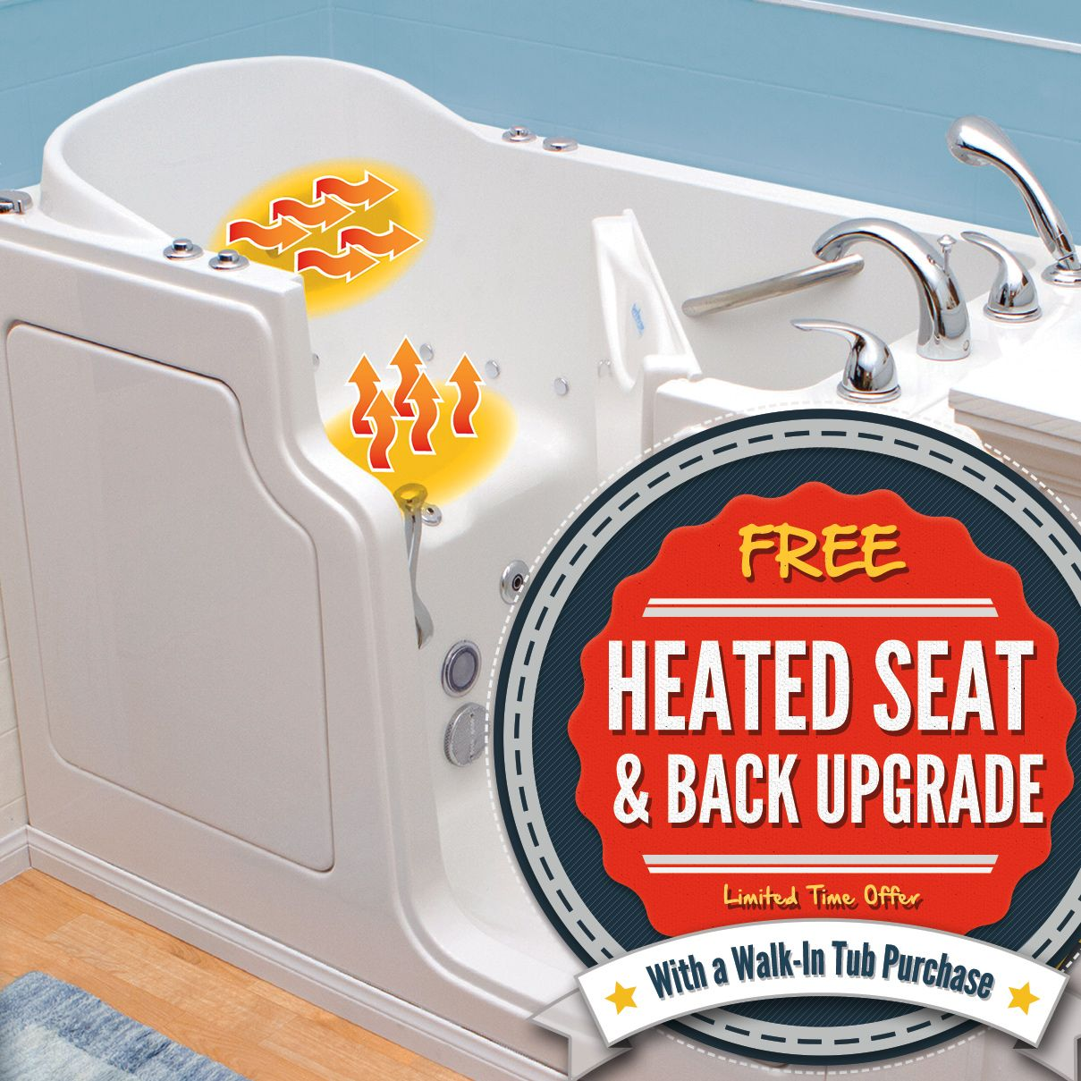 Safe Step Walk In Tubs Now Feature A Heated Seat And Back