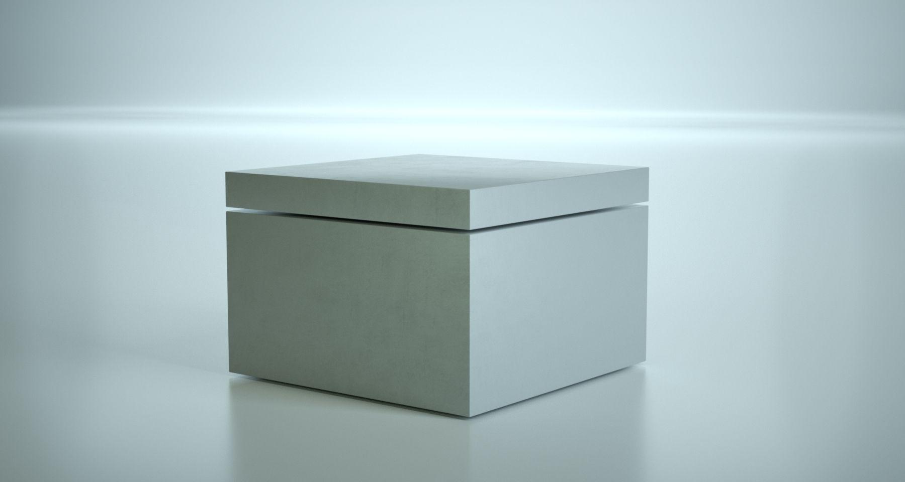 Blickfang Loungetisch Dekoration Von Lounge Tisch/beistelltisch. Aus Glasfaserbeton In Kombination Mit