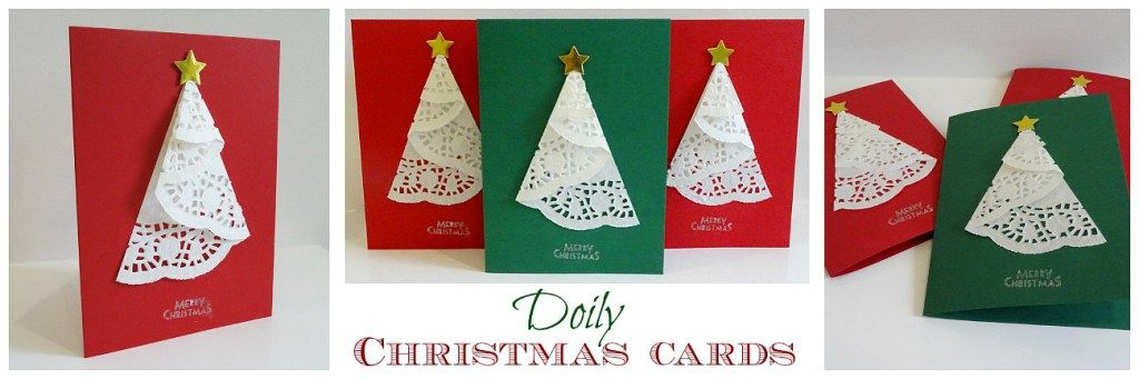 It is fun to make your own Christmas cards Here is a very simple