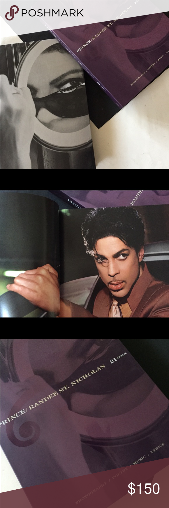 PRINCE 21 nights Rare photograph book with pictures by