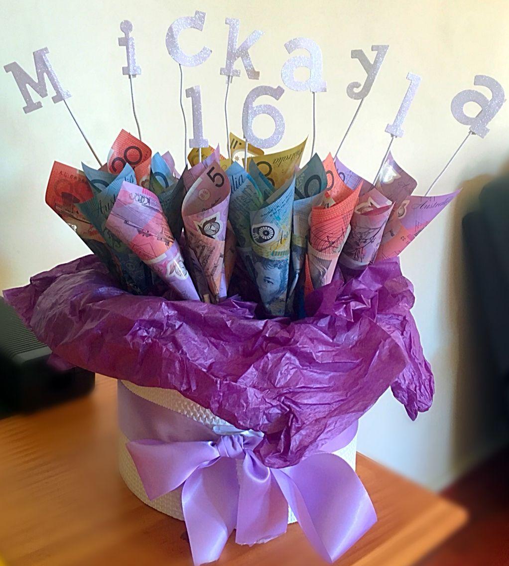 Australian money bouquet handmade by rachaelc my creations australian money bouquet handmade by rachael dhlflorist Choice Image