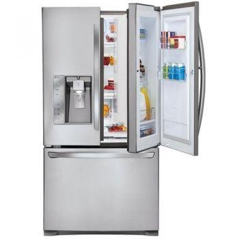 Best French Door Refrigerators 2020 Counter Depth And Top Rated French Door Refrigerators Door In Door Refrigerator French Door Refrigerator Cool Things To Buy