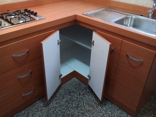 El aprovechamiento de las esquinas en los gabinetes de cocina son ...