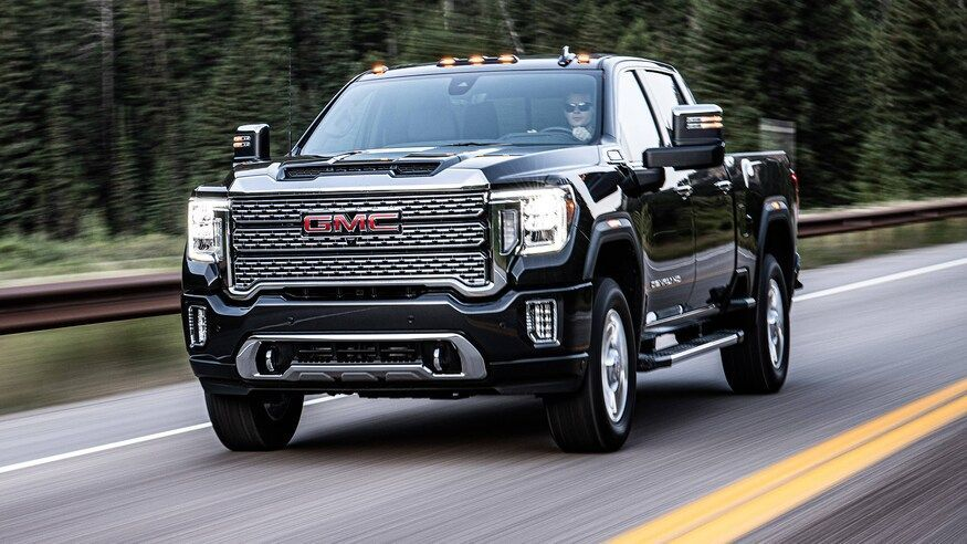 2020 Gmc Sierra Hd 2500 3500 First Drive More Muscle More Style Gmc 2020 Gmc Sierra Hd 2500 3500 First Drive More M Gmc Denali Gmc Sierra Gmc Sierra Denali