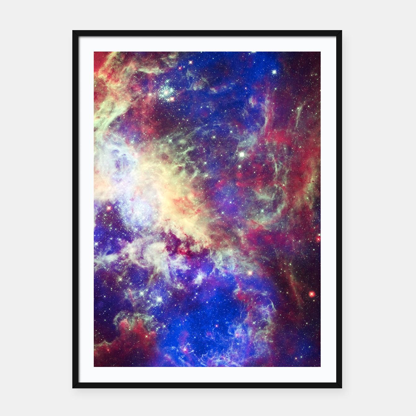 Come to the Universe Plakat mit rahmen, Live Heroes | Unique Posters ...