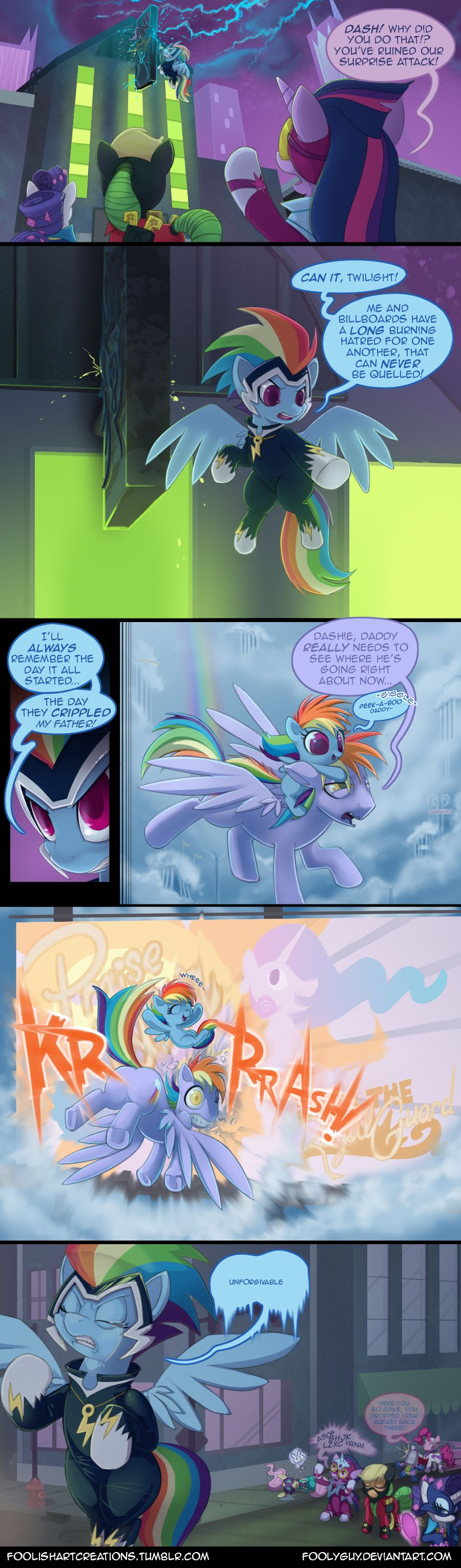 Power Ponies Origin Story By Foolyguy On Deviantart My Little Pony Pictures Pony Mlp My Little Pony