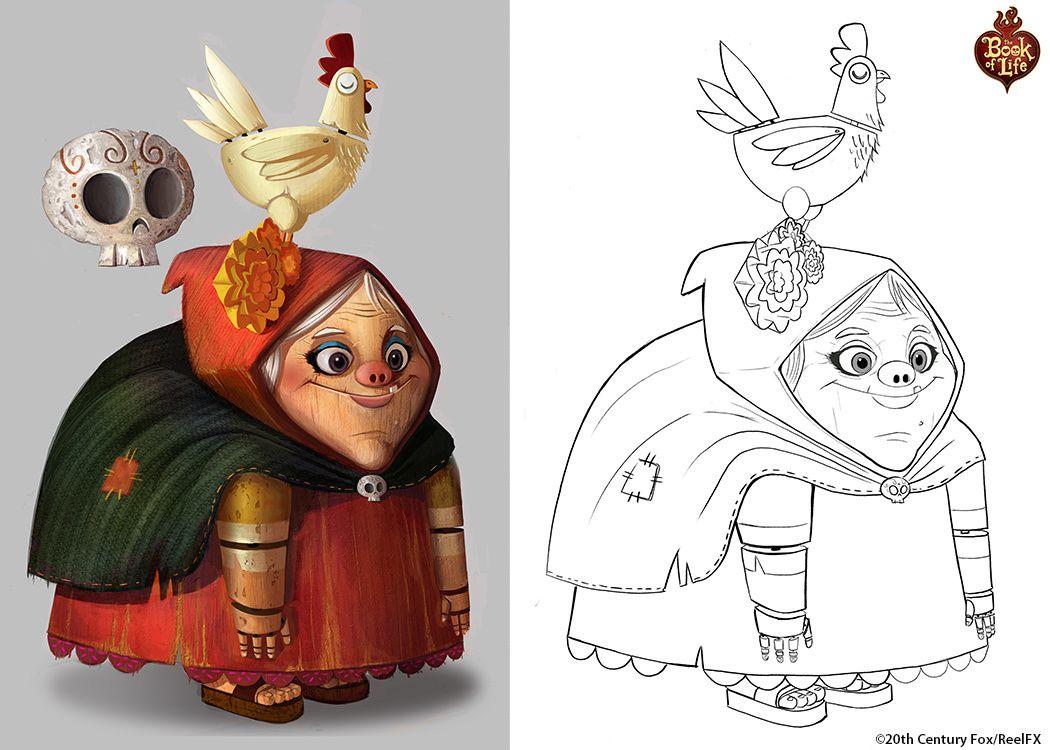 Animation Character Design Portfolio : Alison donato s portfolio book of life desenhos