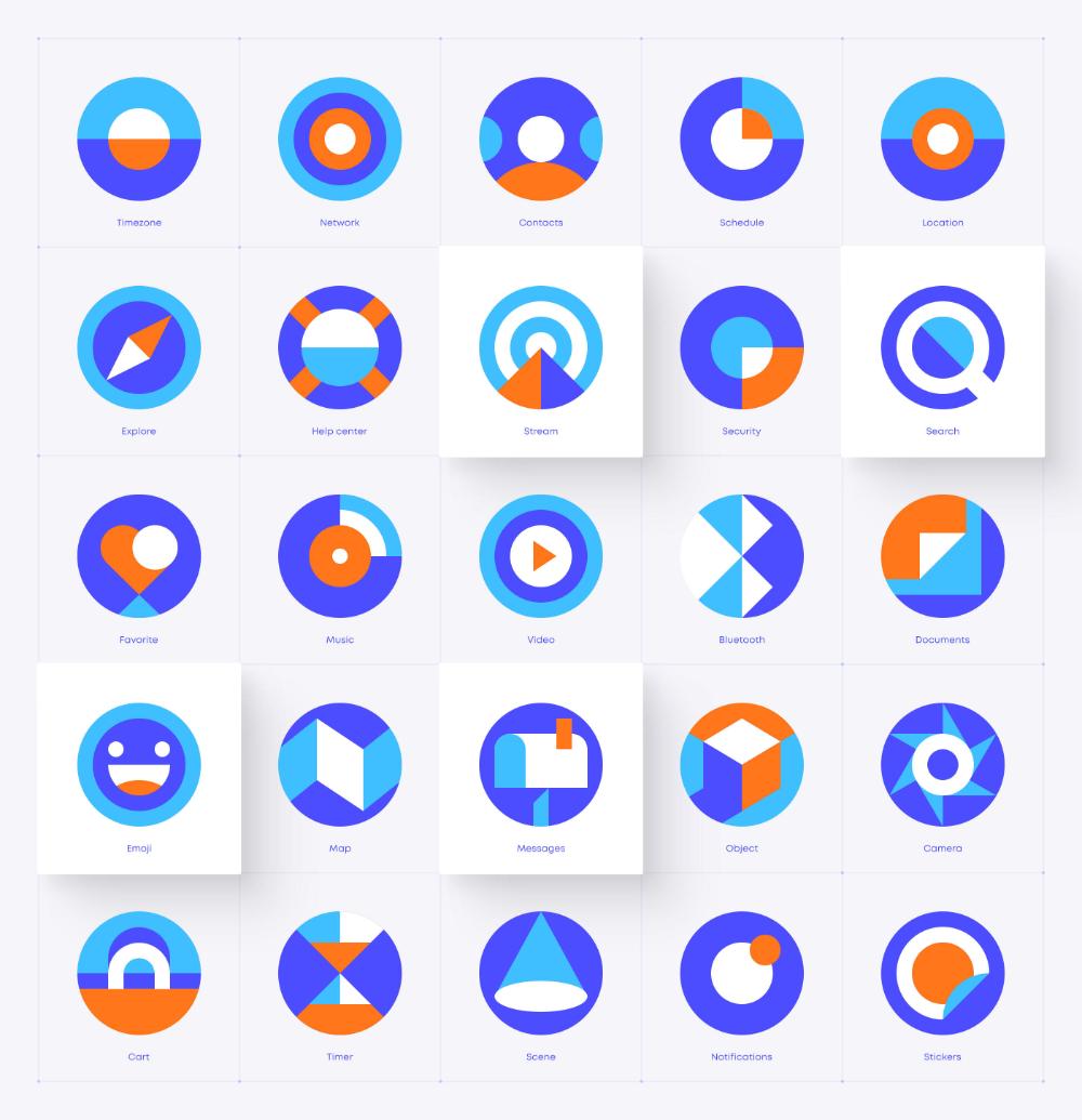 Symbol on Behance Grapic design, Corporate icons, Icon
