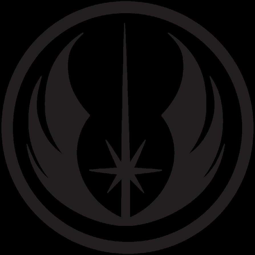 New Jedi Order By Chupacabrathing D4qbtei Png 894 894 Star Wars Symbols Star Wars Silhouette Star Wars Jedi