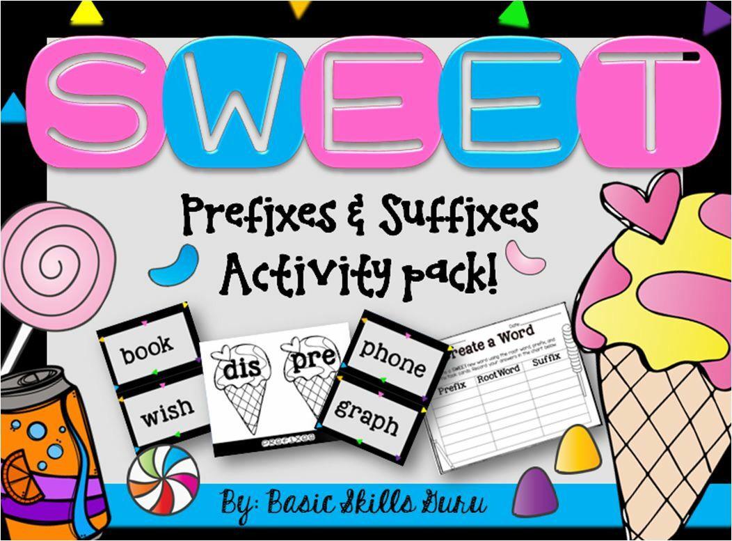 Prefix Suffix And Base Word Activity Basicskillsguru Tpt