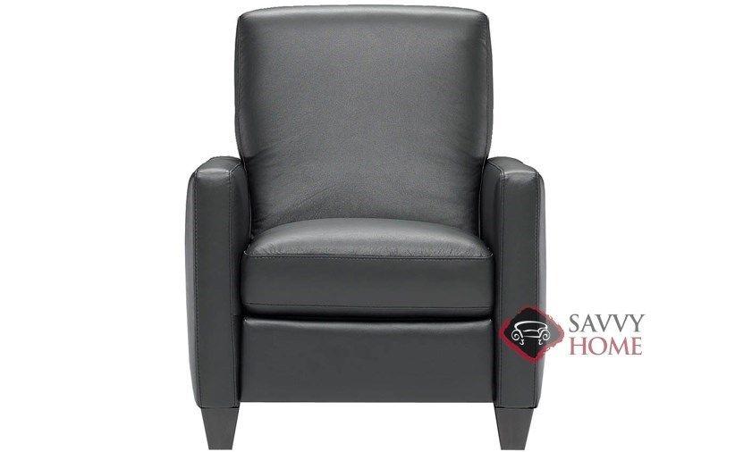 Liri reclining leather chair by natuzzi editions at savvy
