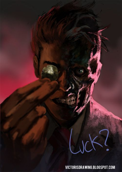 Two Face, Speed Painting by Victor Garciapq