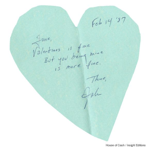 Johnny cashs love letter to june carter is one for the ages june johnny cashs 1987 valentine to june carter short n sweet 3 credit house of cash spiritdancerdesigns Image collections