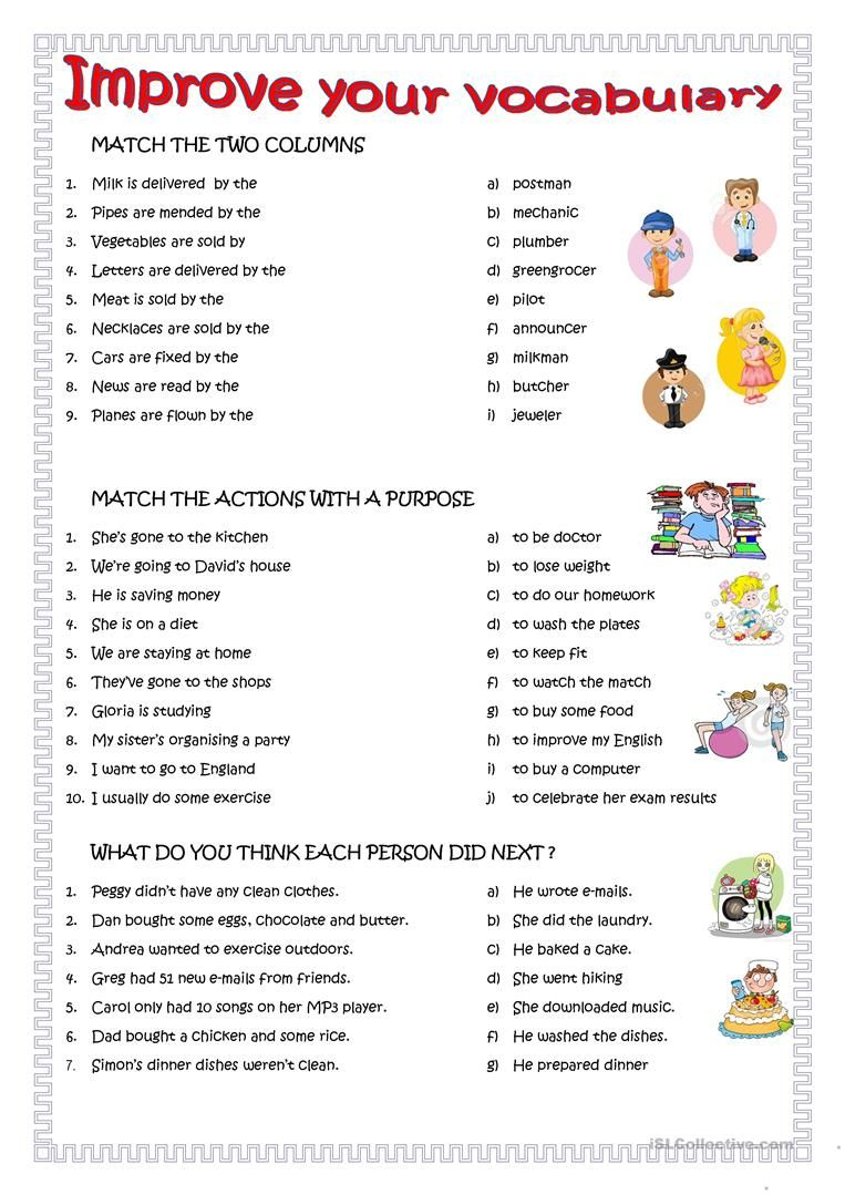 improve your english worksheet free esl printable worksheets made by teachers edu. Black Bedroom Furniture Sets. Home Design Ideas
