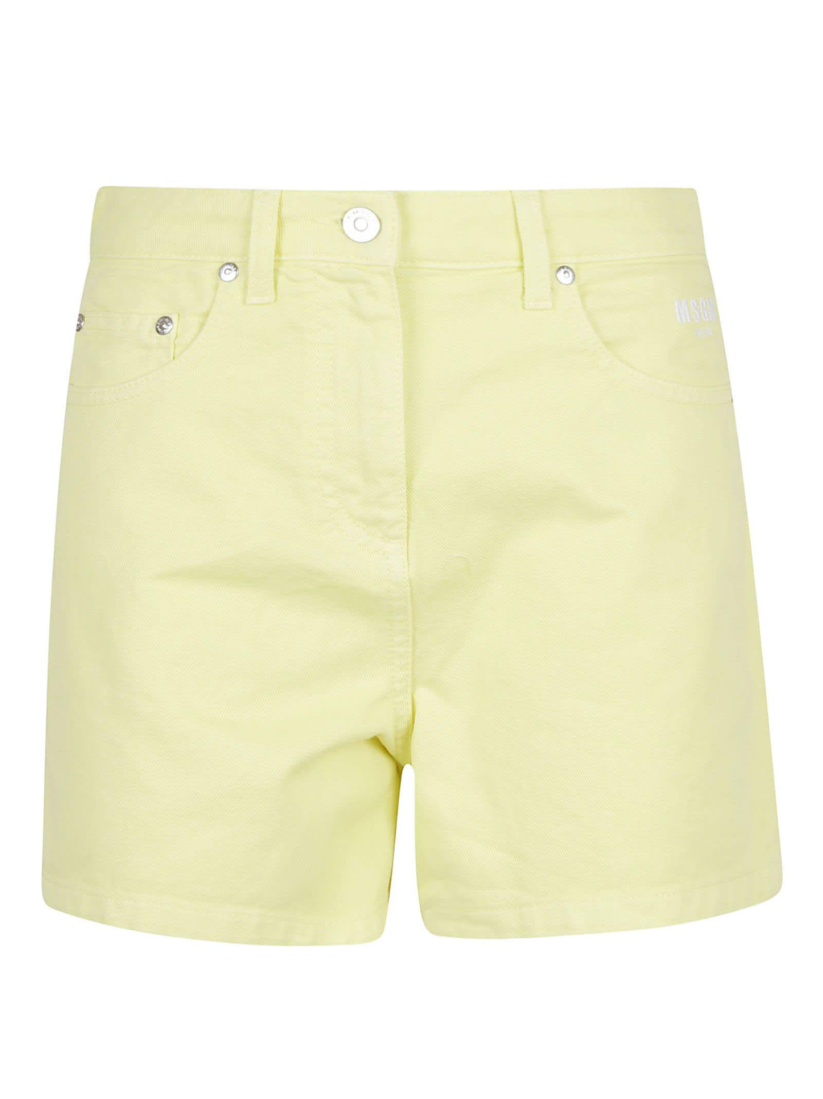 MSGM Bermuda In Denim/denim Shorts from MSGMComposition: 100% Co