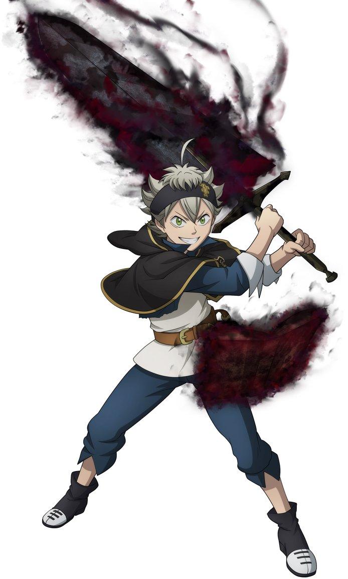 Asta In Black Clover Quartet Knights Black Clover Manga Black Clover Anime Black Anime Characters